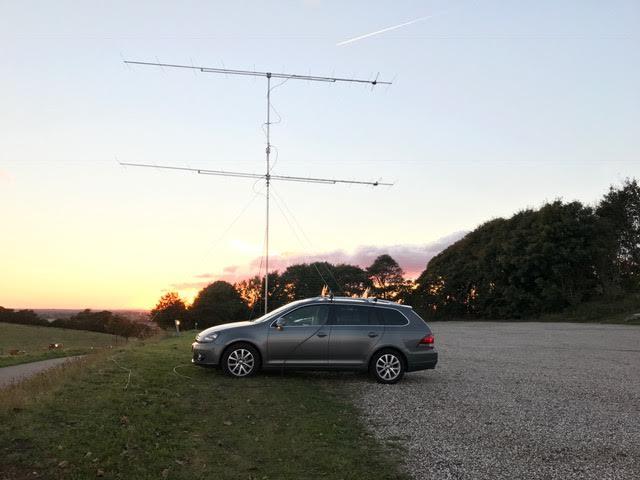 OZ1DLD/P NAC 144 MHz Oktober 2016